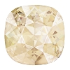 Swarovski 4470 Cushion Cut Square Fancy Stone 10mm Light Silk